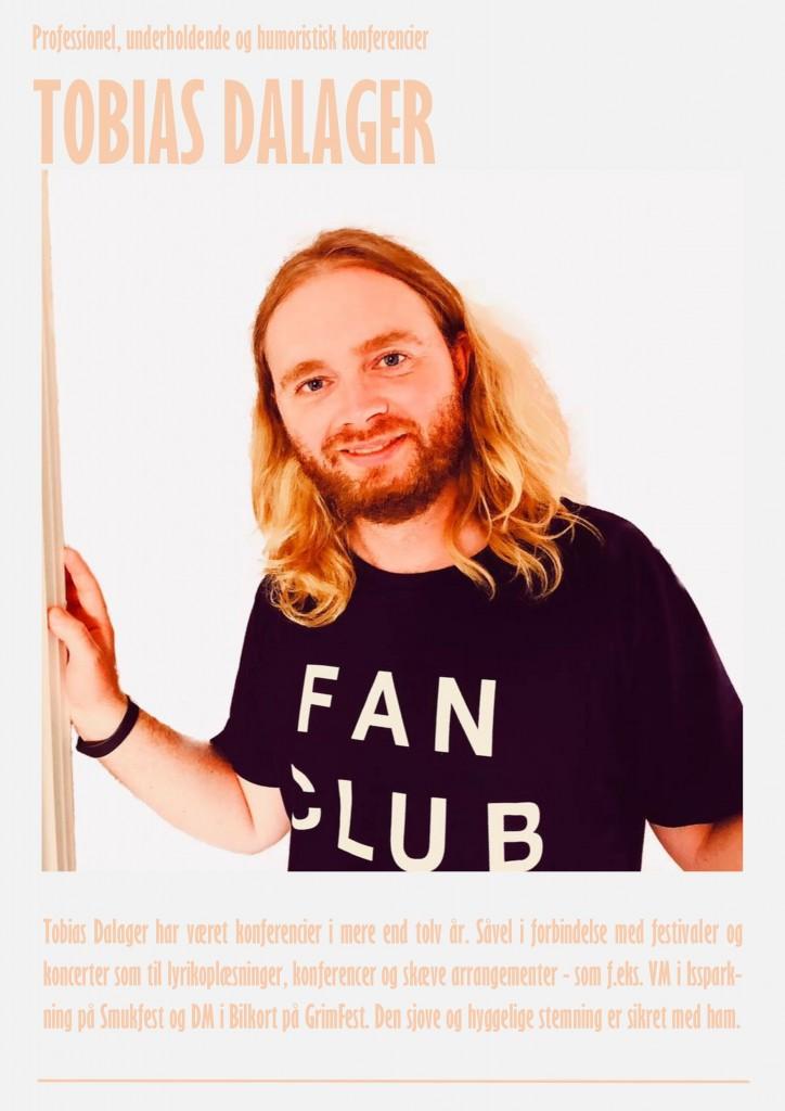 Konferencier - Plakat til hjemmeside - Tobias Dalager